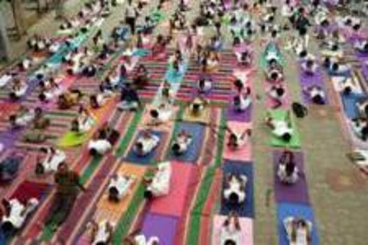 Atomic Energy Central School-Yoga