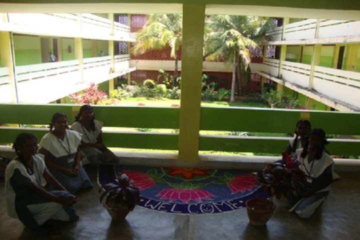 Atomic Energy Central School-Rangoli