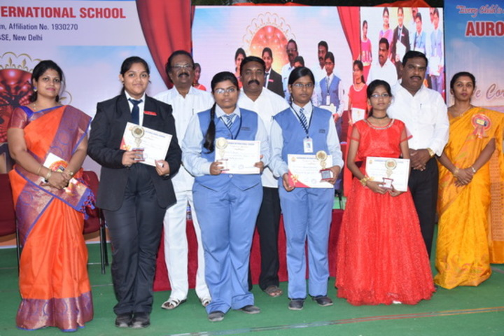 Aurobindo International School-Awards