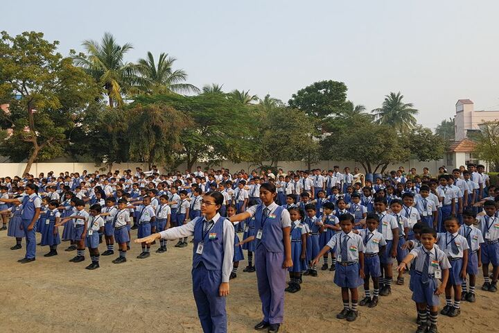 Aurobindo International School-Assembly