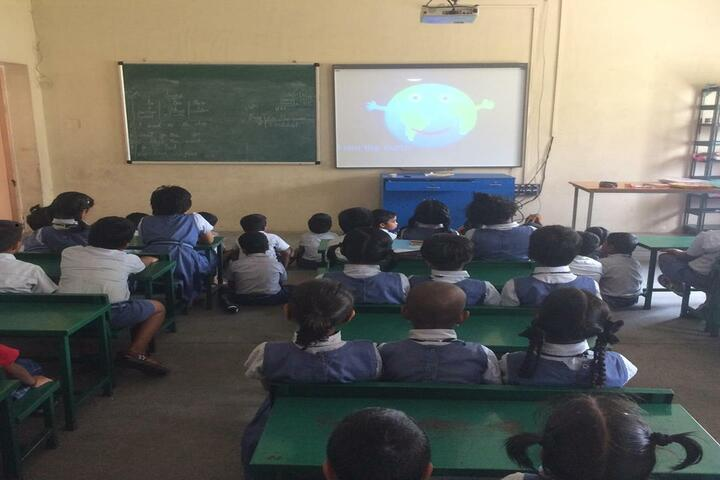 Aurobindo International School-Smart Classroom