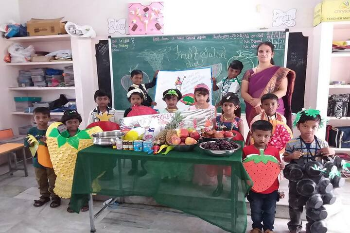 Aurobindo International School-Fruits day