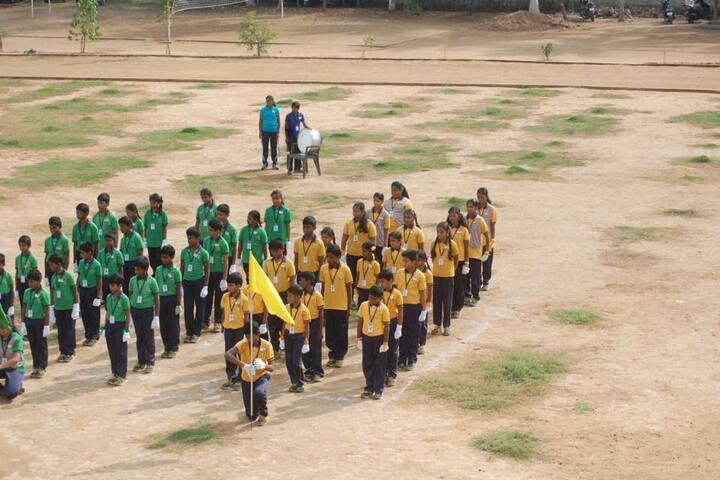 Aurobindo vidhyalaya School-Annual Sports Meet