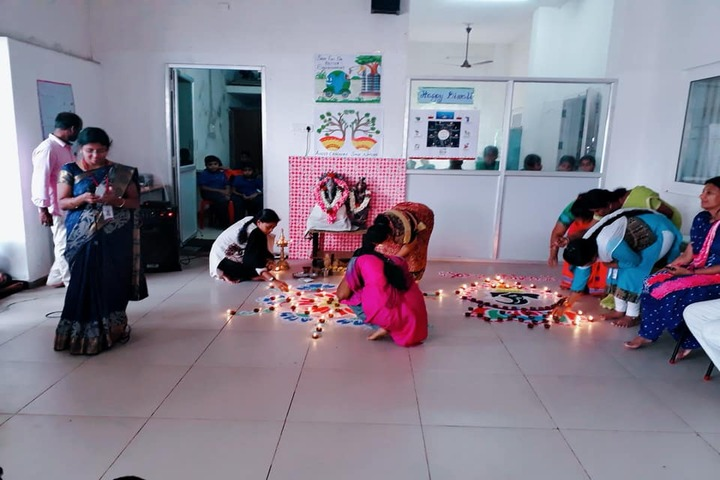 Aurobindo vidhyalaya School-Diwali Celebrations