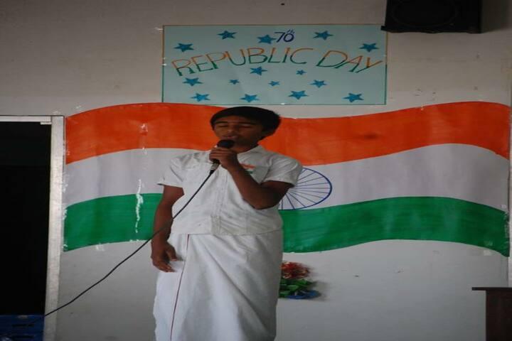 Aurobindo vidhyalaya School-Republic Day