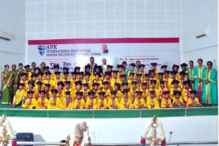 AVK international residential  school-Graduation day celebrations