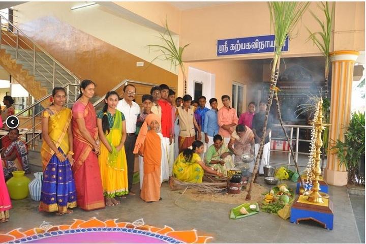 AVK international residential  school-Pongal celebrations