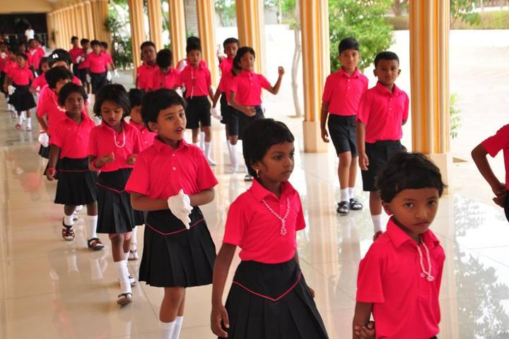 AVK International Residential School-Dancing Activity