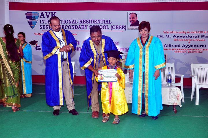 AVK International Residential School-Graduation Day