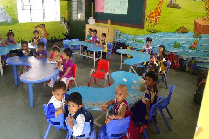 AVK International Residential School-Kids Playing Time