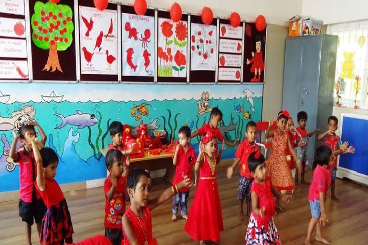 AVP Trust Public School-Red Day Activity