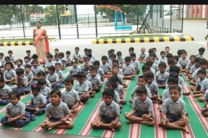 AVP Trust Public School-Yoga Activity
