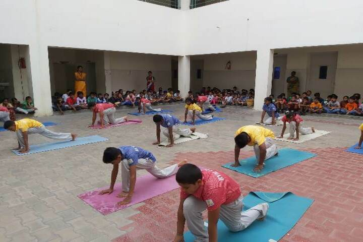 B V M Global-International Yoga Day