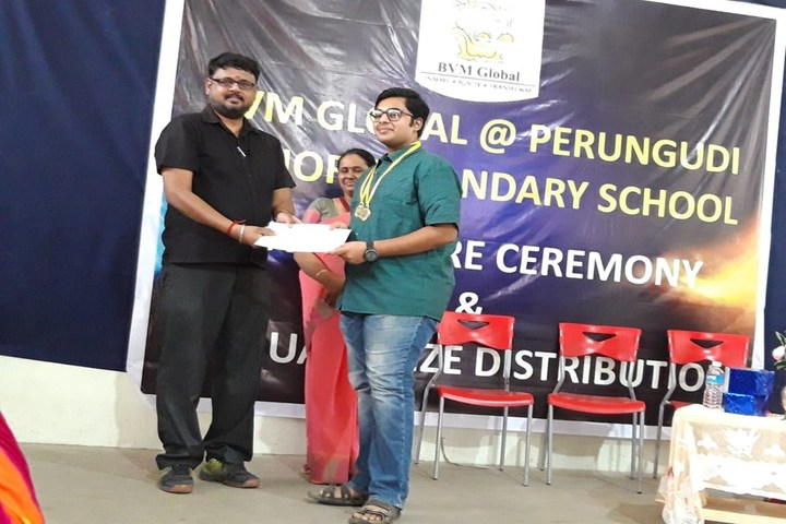 B V M Global-Annual Prize Distribution