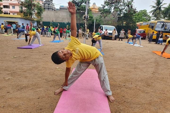 B V M Global-International Yoga Day