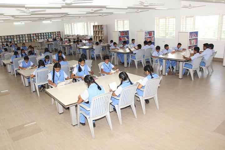 Bannari amman public school-Library