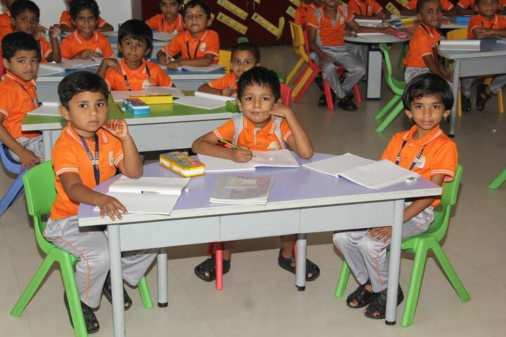 Bannari Amman Public School-Classroom