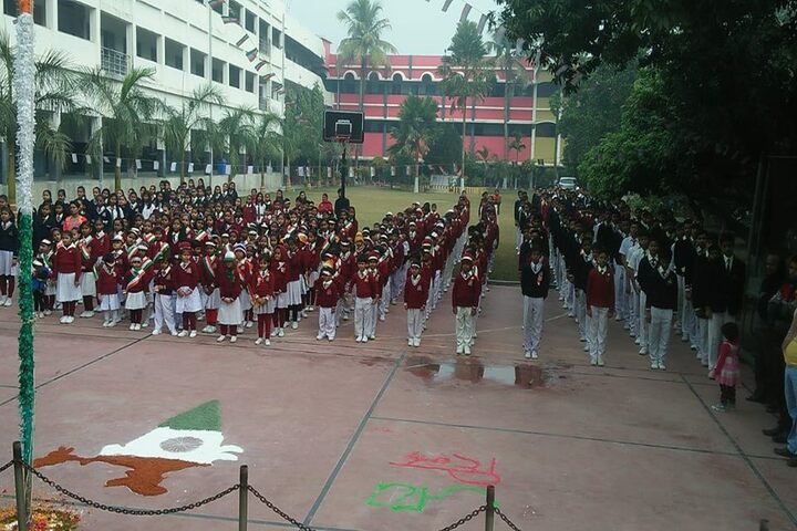 New Holy Ganges Public School-Assembly