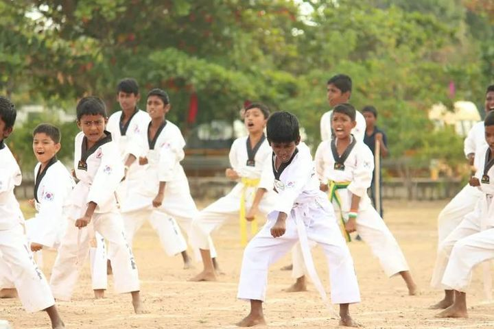 Bhaarath Public Cbse School-Karate Activity