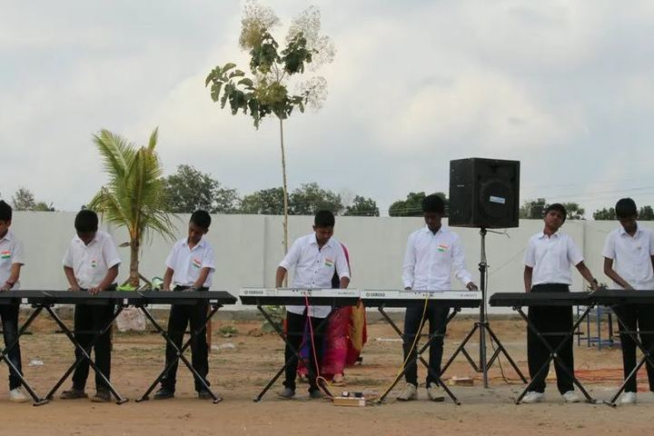 Bhaarath Public Cbse School-Music Activity