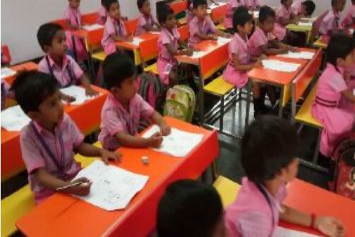 Bharani Vidhyalaya-Classroom