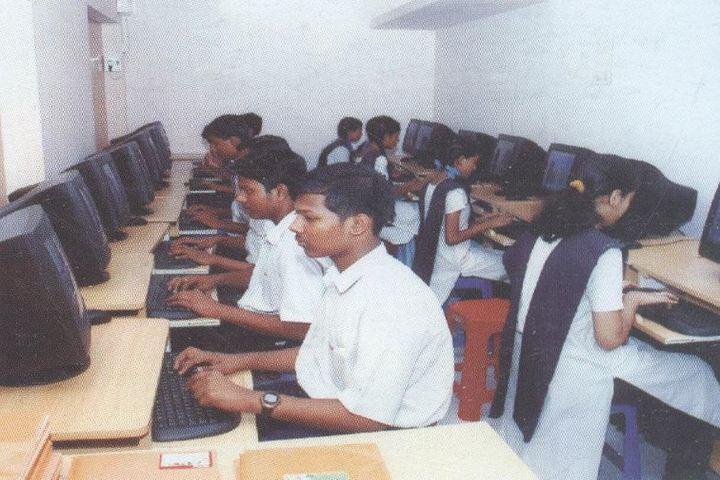 Bharath Senior Secondary School-Computer Lab