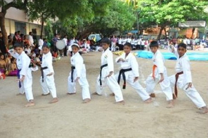Bharath Senior Secondary School-Karate