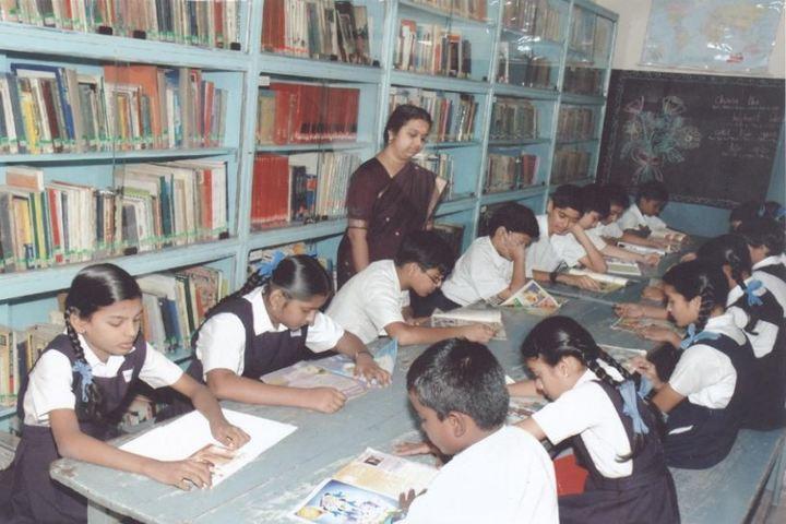 Bharath Senior Secondary School-Library