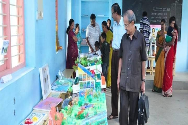 Bharath Vidya Mandir-Science Exhibition