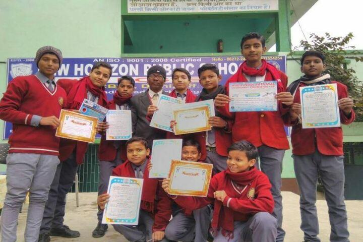 New Horizon Public School-Certification