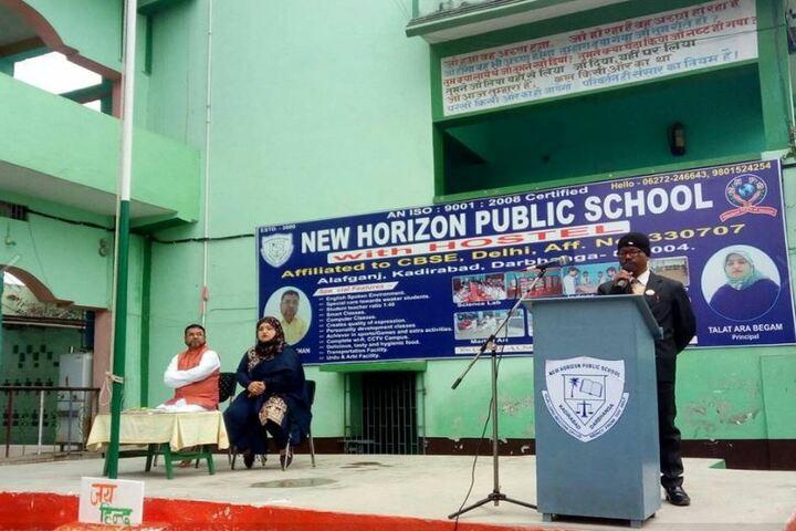 New Horizon Public School-Seminar