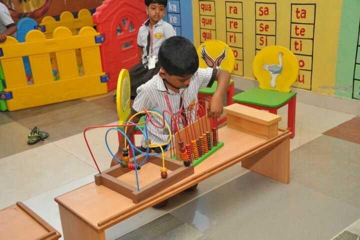 Bharathi Vidhya Bhavan School-Activity Room