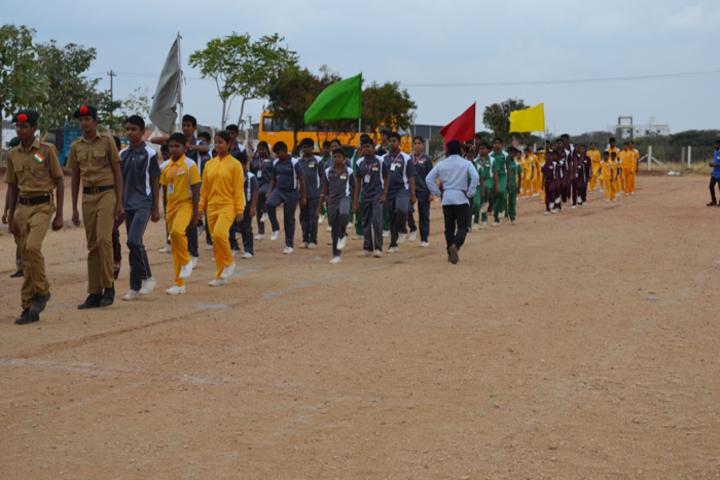 Bharathi Vidhya Bhavan School-Sports Meet