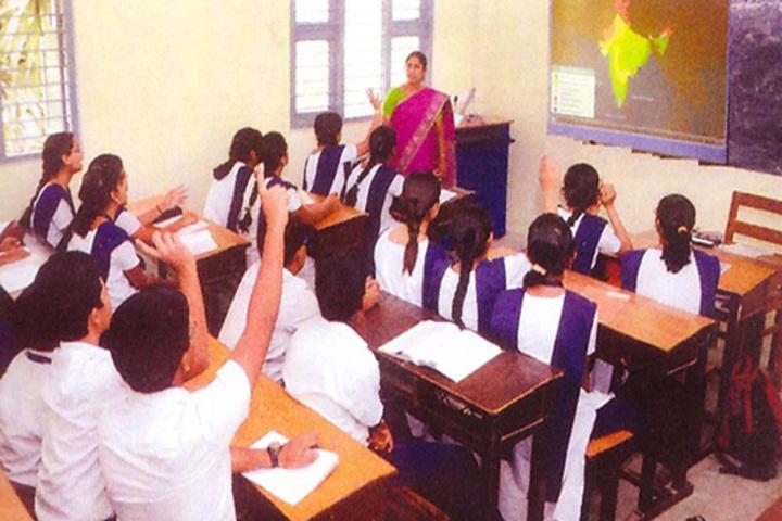 Bharati Vidyalaya Senior Secondary School-Classroom