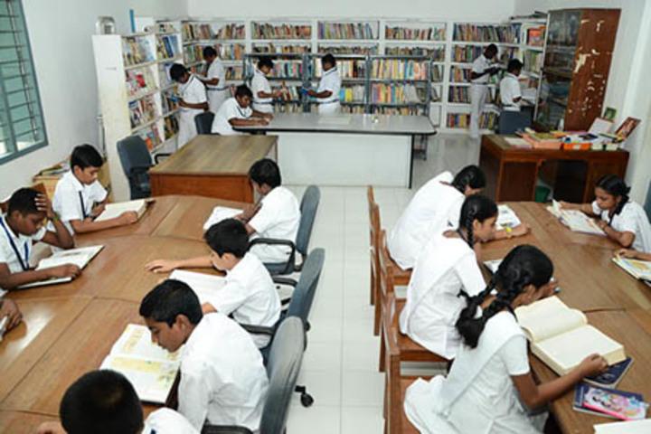 Bharati Vidyalaya Senior Secondary School-Library