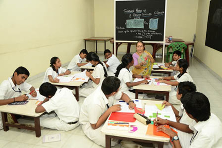 Bharati Vidyalaya Senior Secondary School-Maths Lab