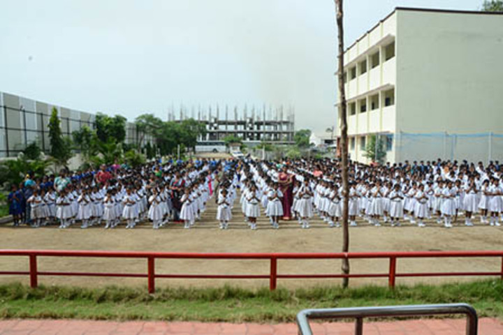 Bharati Vidyalaya Senior Secondary School-Morning Assembly