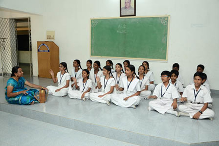 Bharati Vidyalaya Senior Secondary School-Music Room