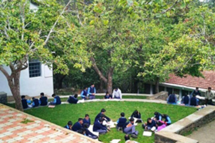 BhavanS Gandhi Vidyashram-Studying Area