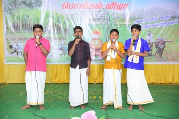 Bishop Remigius School-Pongal Clebrations