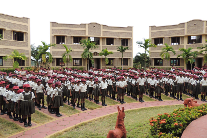 Blossom Public School-Morning Assembly