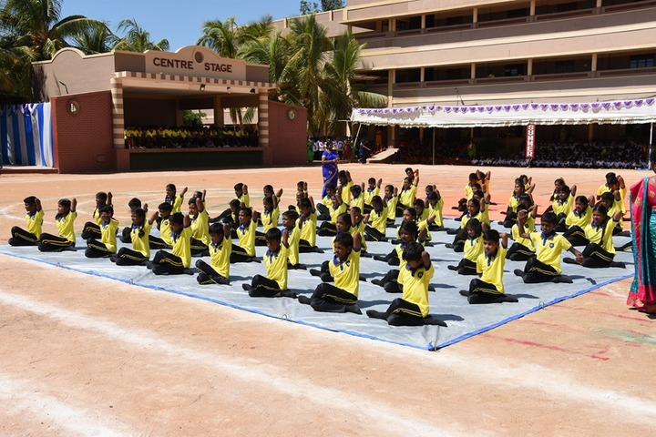 Blossom Public School-Yoga Day