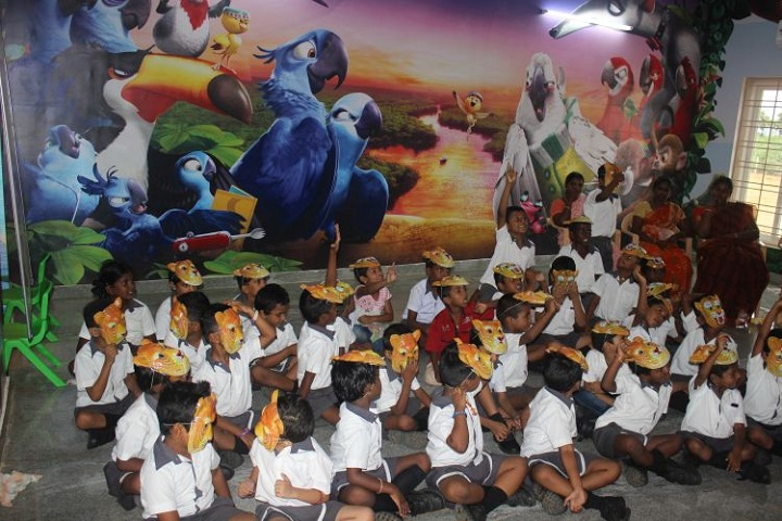 Bodhi international school-Internatonal tiger day celebrations