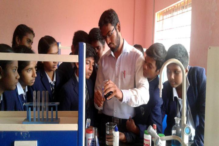 Brammaas Vidhyalaya School-Chemistry Lab