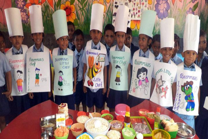 Brammaas Vidhyalaya School-Cookery Activity