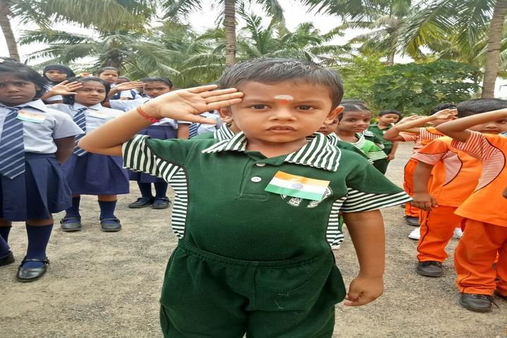 Brammaas Vidhyalaya School-Independence Day