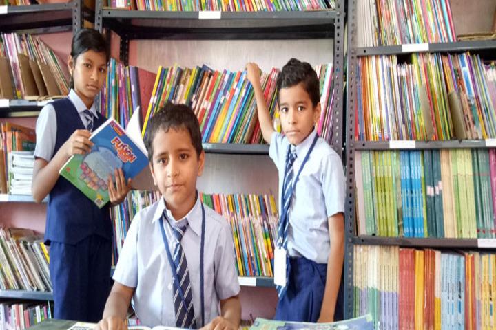 Brammaas Vidhyalaya School-Library