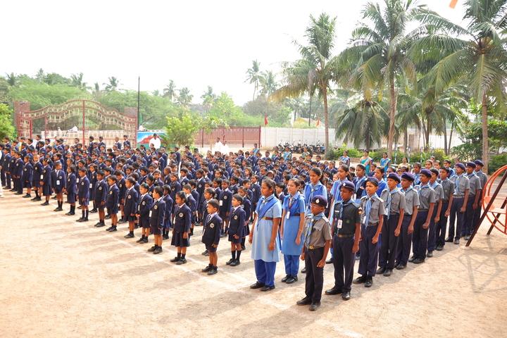Brammaas Vidhyalaya School-Morning Assembly