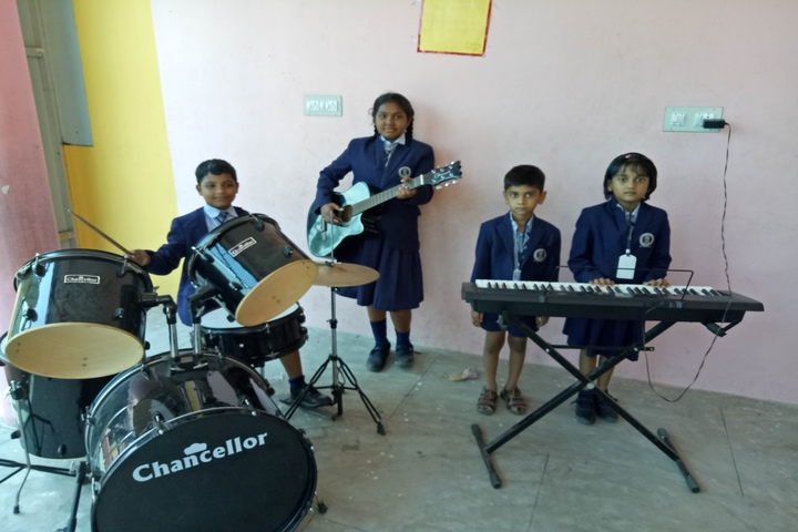Brammaas Vidhyalaya School-Music Activity