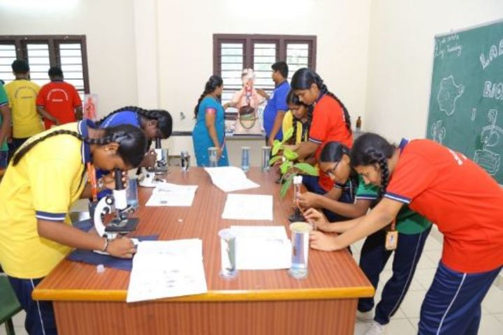 Bright Minds Vidyodaya-Biology Lab
